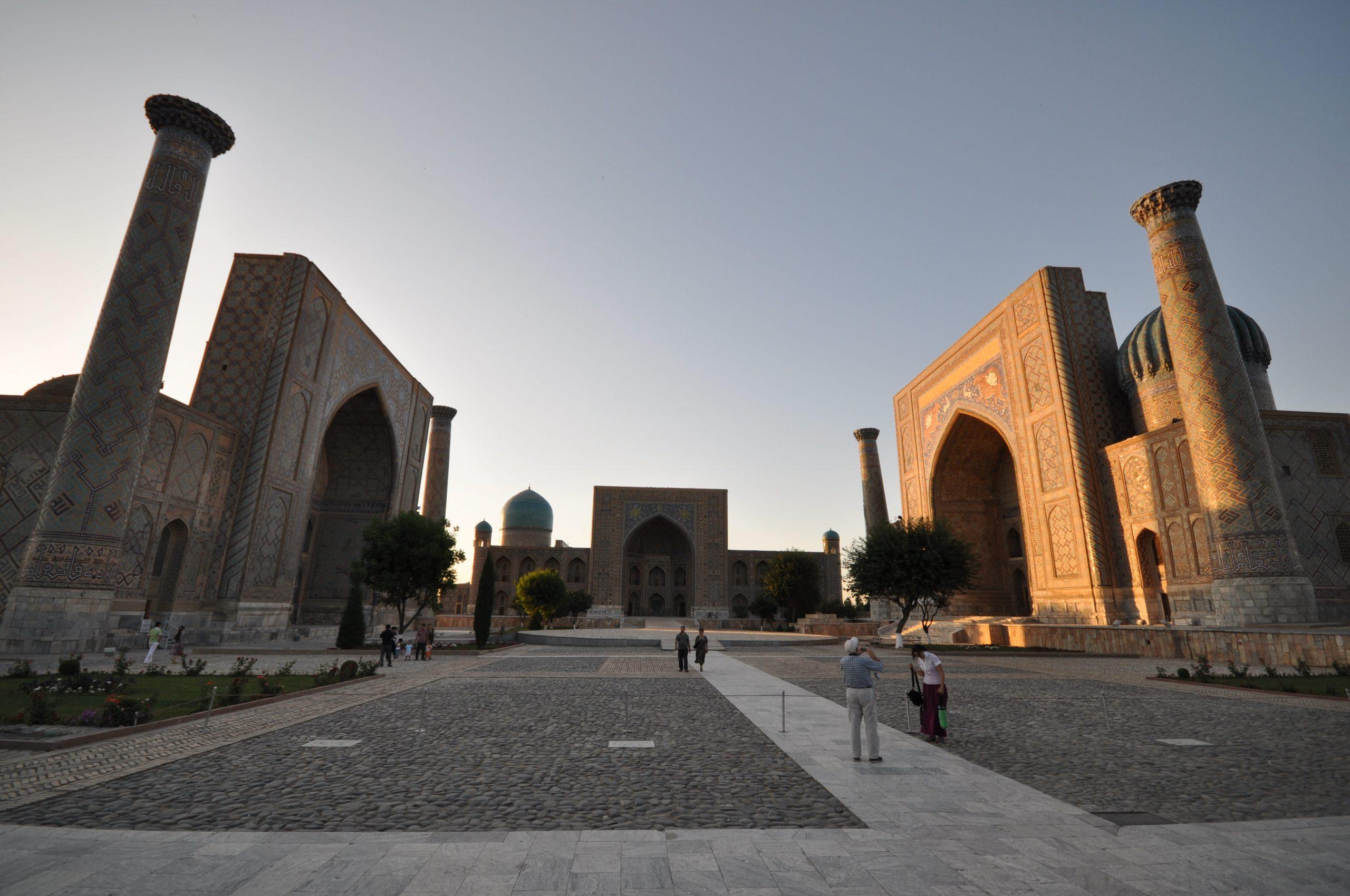 Samarcande, Registan