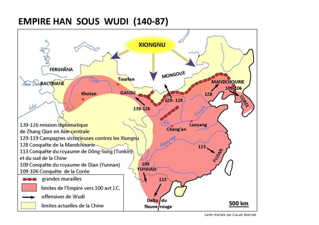 Carte, Han, Wudi