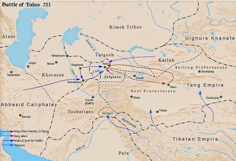 Bataille de Talas